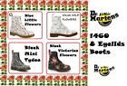 Dr Martens 1460 Womens Flower Boots Various Type (Leather or Textile) Many Sizes