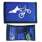 BMX WALLET blue URBAN freestyle street jump 1 BNWT GREAT GIFT - T shirt in shop