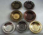 Vintage Design Copper Turkish Spoons and Saucers/Plates, Serving Coffee,Tea