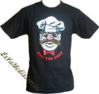 T-Shirt The Muppets KISS THE CHEF Swedish Koch Lizenz Shirt schwarz  Muppet Show