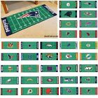 "NFL Teams -  30"" X 72"" Football Field Runner Area Floor Rug Mat $49.99 USD on eBay"