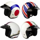 VIPER RS04 ITALIAN UNION JACK TARGET SCOOTER MOTORCYCLE BIKE OPEN FACE HELMET