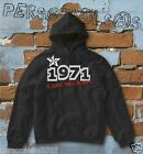 FELPA sweatshirt DATA DI NASCITA 1971 A STAR WAS BORN idea regalo humor