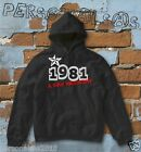FELPA sweatshirt DATA DI NASCITA 1981 A STAR WAS BORN idea regalo humor