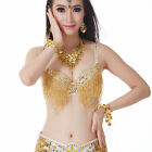 Belly Dance Costume Bra Top beads sequins Many Colours