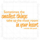Best Websites To Buy Home Decor Winnie The Pooh Sometimes Smallest Things Wall Decal Vinyl Sticker Quote B89