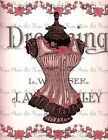 LADIES PINK CORSET  FABRIC BLOCK NOT IRON ON YOU CHOOSE SIZE