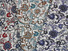 "100% Cotton Fabric Paisley Print 3 colours Half mtr 20""x57"" £3.50 Quilting~Craft"