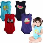 "NWT Vaenait Baby Newborn Infant Toddler One-Piece Bodysuit ""Sleeveless Bodysuit"""