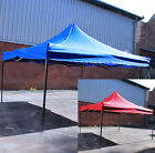 Quality Easy Pop-up Garden Gazebo Market Stall Metal Frame 3m x 3m Waterproof