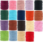 Waxed Cotton Cord 0.6mm x 10 meters, Many Colours Available