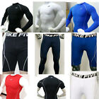 Mens Sports Compression Base Layers Under Top Shirts Skin Pants Gear Drawer Wear