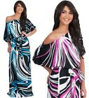 NEW Womens One Shoulder Cocktail Evening Party Plus Maxi Dress S M L XL 2X 3X 4X