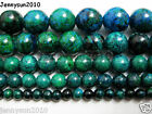 Synthetic Chrysocolla Gemstone Round Loose Beads 16'' 4mm 6mm 8mm 10mm 12mm