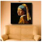 Huge! Vermeer Girl Pearl Earring ALL SIZES CANVAS Print Poster GICLEE Art DECOR