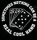 Cool Hand Luke Inspired T-Shirt Poker Player Bluffer Card Movie Buff Paul Newman
