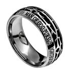 """Christian Ring Crown of Thorns """"Man of God"""" Spirit & Truth Jewelry BRAND NEW"""