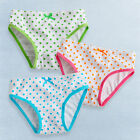 "NEW Vaenait Baby Girl 3 pack of Underwear Briefs Pantie Set ""Pop Pin Dot"""