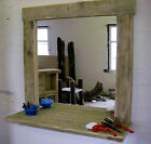 Driftwood Salon Styling Station Hairdressing mirror