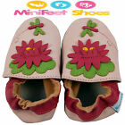 NEW SOFT LEATHER BABY GIRLS SHOES 0-6, 6-12, 12-18, 18-24 MONTHS Lilypad