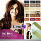 "16"" variety color high ponytail 100% clip-in human hair extension easy to wear"