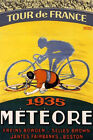 Tour de of France 1935 Bicycle Race Meteore Cycles Vintage Poster Repro FREE S/H
