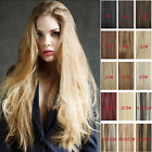 "clip in human hair HIGH ponytail extensions, 80g 16""-28"" long  any color"