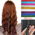 "High Quality Hair Tinsel bling extensions 300 strands 28"" long hair tinsel"