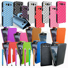 NEW LEATHER FLIP CASE COVER FOR SAMSUNG GALAXY S S2 S3 ACE 2 Y SCREEN PROTECTOR