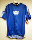 'Velo Kings' Short Sleeve Cycling Jersey by Sugoi in Blue / White