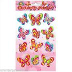 Butterfly Stickers sheets - Ideal for Party/Loot Bag/Toy - 1,2,3,4,5,6 sheets