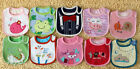 1pc new 3 Layer Waterproof Baby Bib baby lunch bibs free shipping