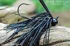 Old Hippy Custom Football Jigs - Black & Blue