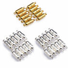 10Sets Silver/Gold Plated Oval Magnetic Clasps Connectors Jewelry DIY Findings