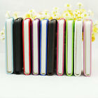 STYLISH GRIP Smooth PU Leather Megnet Button Flip case for Apple iPhone 5 5S 5G