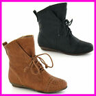 WHOLESALE Girls CUTIE Fashion Lace Up Ankle Boots   Sizes 11-3 x14prs H4074