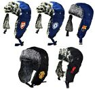 OFFICIAL FOOTBALL TEAM - RUSSIAN FAUX FUR WINTER TRAPPER HAT - NEW GIFT XMAS