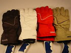 New Reusch Winter Ski Gloves Womens Leather Palm Small (7) Twirl #2588127 SAMPLE