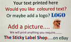 PERSONALISED MINI LABELS - AVAILABLE IN GOLD,SILVER, CLEAR AND MANY COLOURS