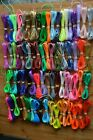 10 yards your choice colors rexlace lacing boondoggle plastic lace string