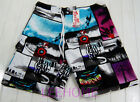 NEW QUIKSILVER MEN'S SURF BOARD SHORTS SWIMMING/BEACH PANTS #QS109 SIZE 34/36/38