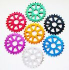 BMX / STREET / STUNT 25T ALLOY CHAINRING, ANNODISED COLOURS !! 25 TOOTH