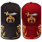 Shriners with Gold Trim Hat Cap Embroidered in the USA 852RY