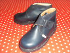 BNWB BLUE LEATHER ANKLE BOOT/SCHOOL SHOE FROM BUCKLE MY SHOE RRP £45