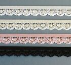 13mm Lace edged elastic- different colours & lengths available