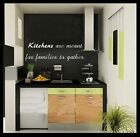 KITCHEN FAMILY TO GATHER wall sticker Quote decor vinyl quote