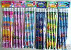 Childrens Character Pencils Party Bag Fillers - 21 Designs / Choose Design & Qty