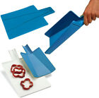*NEW* FLEXIBLE FOLDING CHOPPING CUTTING SLIDING FOOD BOARD KITCHEN PLASTIC SAFE