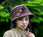 *** SALE *** BRAND NEW LADIES VINTAGE/FASHION STYLE WOOL FELT CLOCHE STYLE HAT
