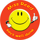 Personalised Reward stickers for Teachers Mothers Childminders Nurseries Thumbs^